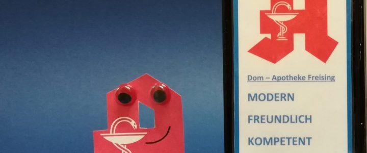 """Schaufenster: die """"digitale Dom-Apotheke"""""""